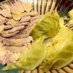 ままや - 煮豚と煮キャベツ(叢生会料理)