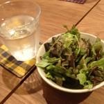 ウチカフェ - ラントのサラダ