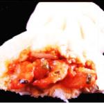 ブタまんの江戸清 - エビチリまん 1個500円!エビチリをそのまま包みました。プリプリの食感をお楽しみください!