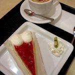 カフェ・サンタマリア - ケーキセット