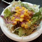 ポコアポコ - Aランチのサラダ