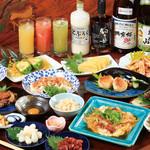 はつざき亭 - 料理写真:主な料理