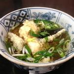 更科 - 天ぷら蕎麦【750円】