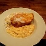 カフェ メリッサ バー - 料理写真:フレンチトースト。ふわとろ食感です。