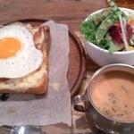 グローブピッコラ - クロックマダムセット+スープ