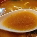 麺場 七人の侍 - スープ