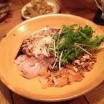 マンボ飯店 - マンボ飯店の天然ハマチのチャイニーズカルパッチョ780円(13.09)