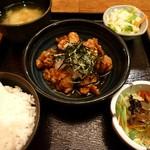 22463919 - 若鶏のみぞれかけ定食(2013/11/13撮影)