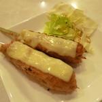 とり道楽 - 2013.11.10 つくね(チーズ)