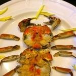22466239 - 上海蟹のメス姿蒸し