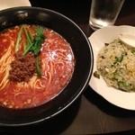 中国料理随園 - 旨麺三昧セット@990円
