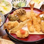 天ぷら ひさご - 冬の味覚定食