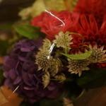 ピッツェリア ナポレターナ ラ・タヴォロッツァ - お祝い花