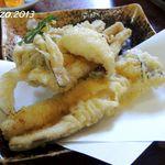 市場食堂 - 穴子の天ぷら定食