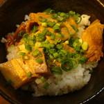 ラーメン康竜 - 角煮丼