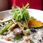 トゥッティ ハウス - お野菜たくさんたくさんの十六穀米リゾット