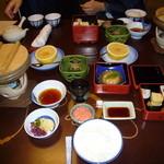 Arairyokan - 朝食