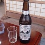お食事処 たむら - ビール大瓶(600円)