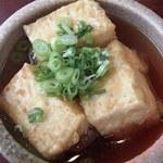 お食事処 たむら - 揚げだし豆腐(300円)