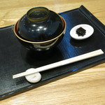 京都 つる家 茶房 - 生麩ぜんざい(\840、2013年10月)