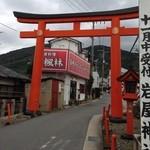 22473515 - 岩谷神社 参道 鳥居