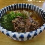 たぬき - 肉うどん550円