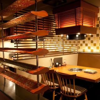 「京都」と「韓国」の融合をイメージした焼肉店です。