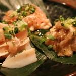 焼肉牛太 - 鶏肉を3種の部位を楽しめる鶏三昧!もも、せせり、ヤゲン軟骨でビールが止まらない!
