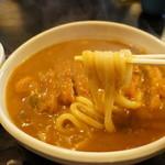 ふじきち - 手打ちの麺は、太くて腰のある讃岐系