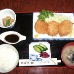 やすけ鮨 - 一口ひれかつ定食