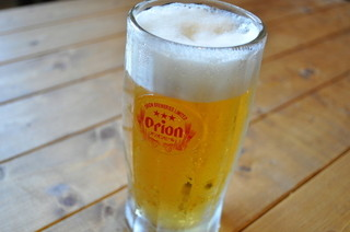 琉花 - ボクも好きだネ!美味しいオリオン生ビールはオリオンビール社から太鼓判♪