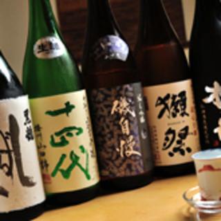 日本酒を飲みながら、ゆっくりとした時間をお過ごし下さい。