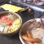 鉄板焼 えびす屋 - お好み焼、もんじゃ焼、焼肉、鉄板焼、焼そば、チャーハン、サラダ、おつまみ