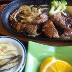 三平茶屋宮丸店 - 御新香とオレンジ