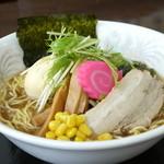 レストラン 風車 - ラーメン(醤油・味噌・塩) 680円
