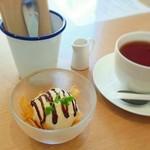 kaerucafe - 平日限定ランチミニデザート