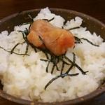 岩本屋 - 明太子ご飯中(380円)…小(230円)もあります。
