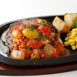 フライングガーデン - イタリアン野菜たっぷりハンバーグ