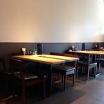 ハナヤマZ - テーブル席もあります