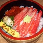ながる - カニイクラ丼