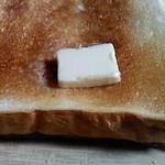 フラン ブラン - トーストしてバター
