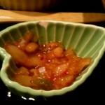 御馳走ごはん あの頃 - 善玉菌増々 納豆とキムチと玉ねぎを発酵させたもの
