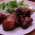 シルバーロック - 豚豚肉の煮込み(480円)は、大きな塊の豚肉がゴロゴロ・・・