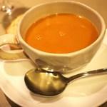 22487873 - 店名の「ビスク」スープ