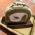 Cafe + Boulangerie Doppo - 抹茶のケーキ