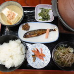 22489065 - 定食(飛騨牛味噌陶板焼定食)