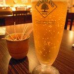2249234 - キリンハートランドが生ビールでした。あんまりこれ好みじゃないw。