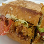 ナウリンズ - fried oyster sandwich