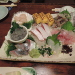魚や - 刺身の盛り合わせ 2500円