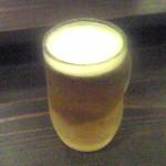 たっしぃ - 生ビール